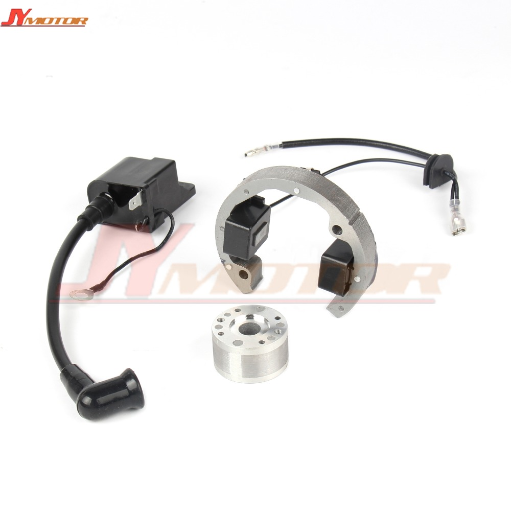 Motorcycle Ignition Coil Stator Flywheel For 50 SX 50cc Pro Senior Junior SR JR 50 2001 2008