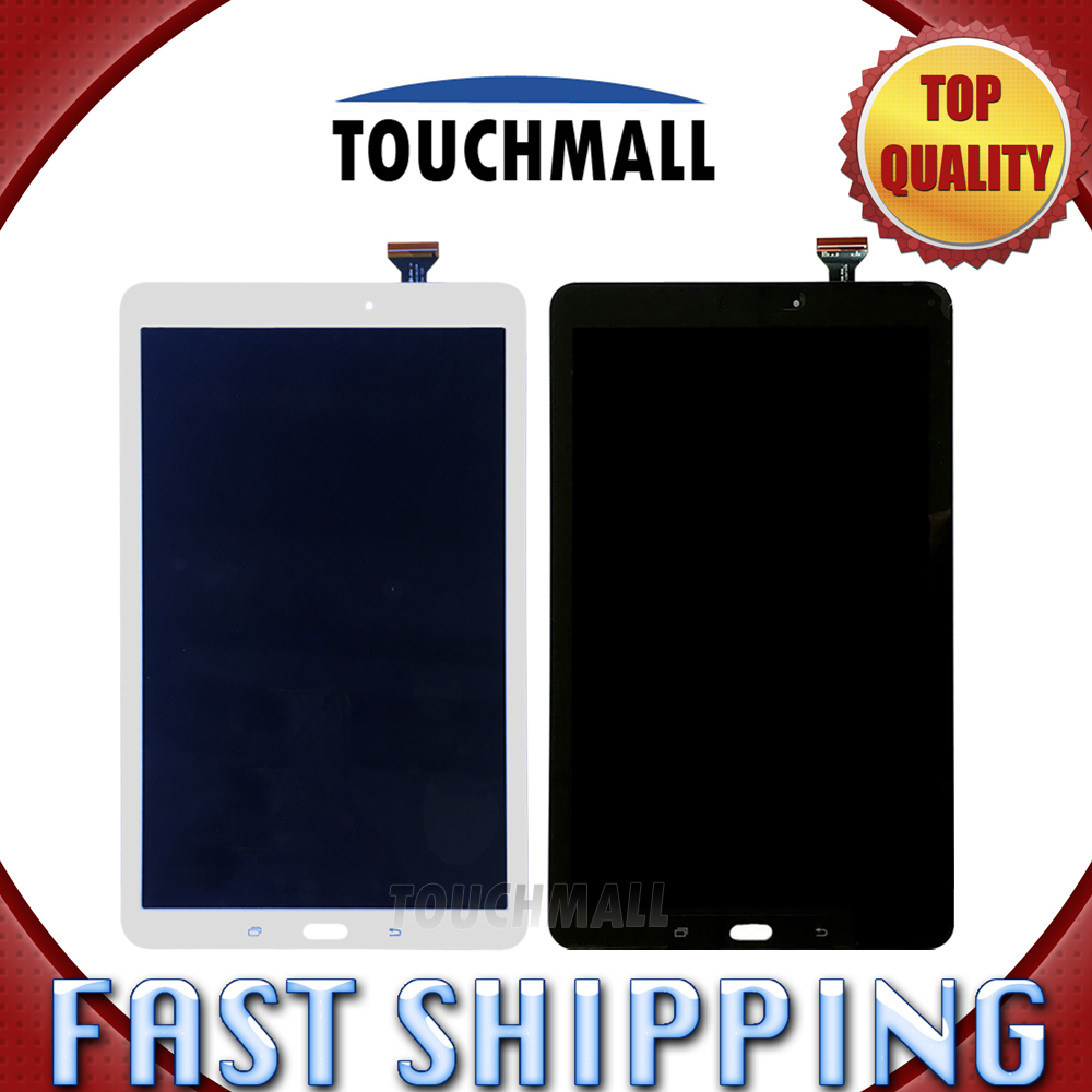 ФОТО For Samsung Galaxy Tab E SM-T560 T560 Replacement LCD Display Touch Screen Assembly Black White 9.6-inch for Tablet