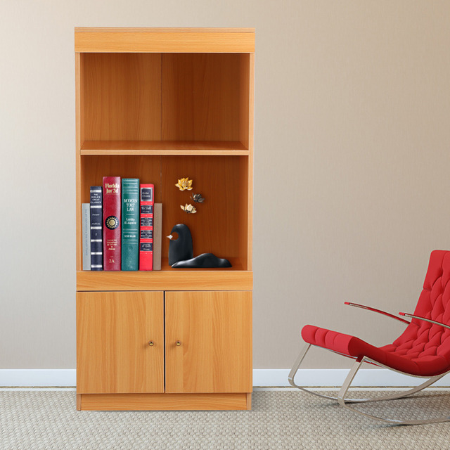 3 Tiers Modern Wooden Filling Cabinet Magazines Papers Storage Shelf  Bookcase Bookshelf Living Room Home Office