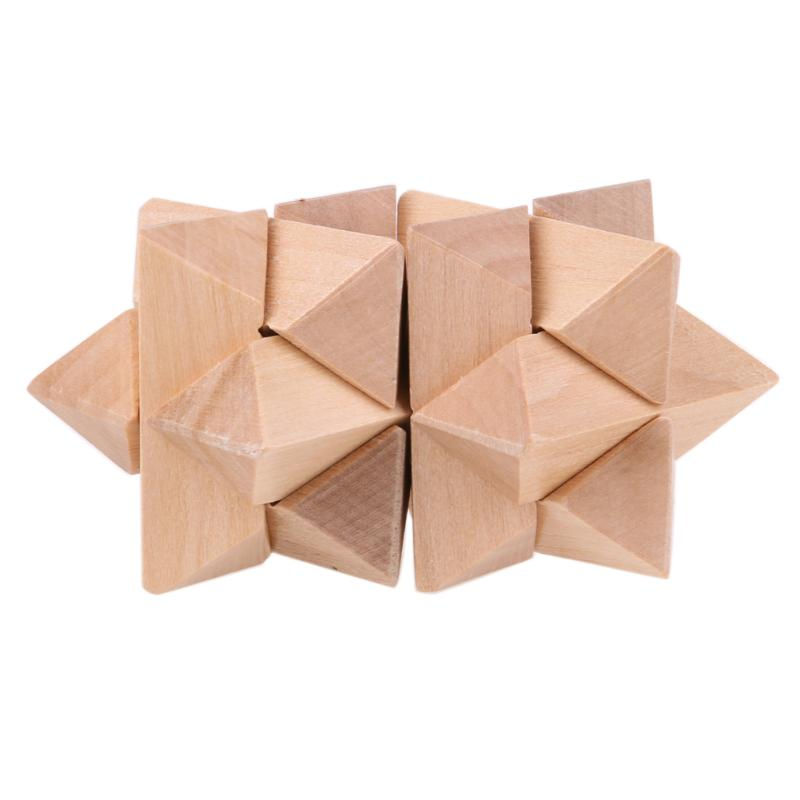 Kong Ming Luban Lock Kids Adult Wooden Intellectual Puzzle Brain Tease Toy