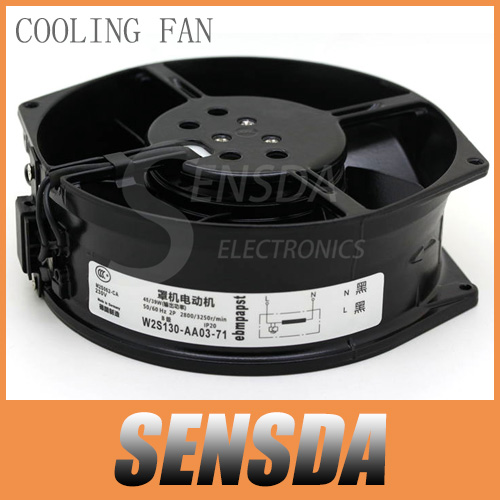 PAPST ebmpapst W2S130-AA03-71 17cm 170mm industrial machine all metal axial cooling fans radiator blower