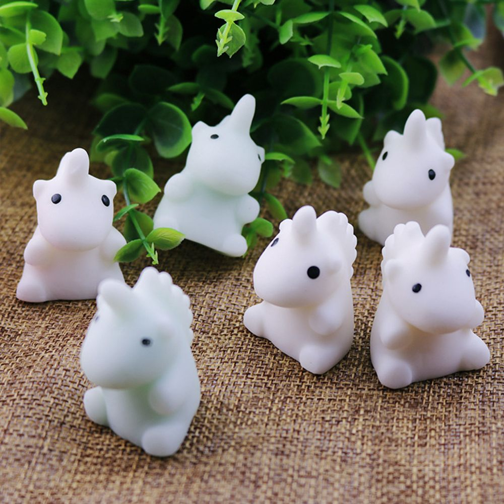 Novelty Mini Soft Cute Unicorn Shape Squishy Squeeze Healing Toy Kids Toy Decor Lovely Slow Rising Unicorn Stress Relieve Toy