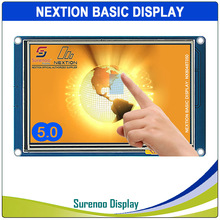"5.0 ""NX8048T050 Nextion בסיסי HMI חכם USART UART סידורי Resistive מגע TFT LCD מודול לוח תצוגת Arduino פטל pi"