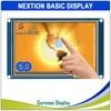 "5.0 ""NX8048T050 Nextion الأساسية HMI الذكية USART UART المسلسل مقاوم اللمس TFT وحدة عرض LCD لوحة لاردوينو التوت بي"