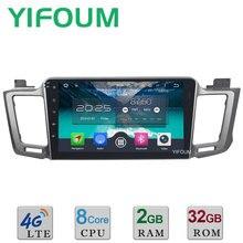 4G WIFI 2GB RAM 32GB ROM 10.1″ Octa Core Android 6.0 DAB+ Car DVD Player Radio For Toyota RAV4 RAV 4 2013-2017 GPS Navigation