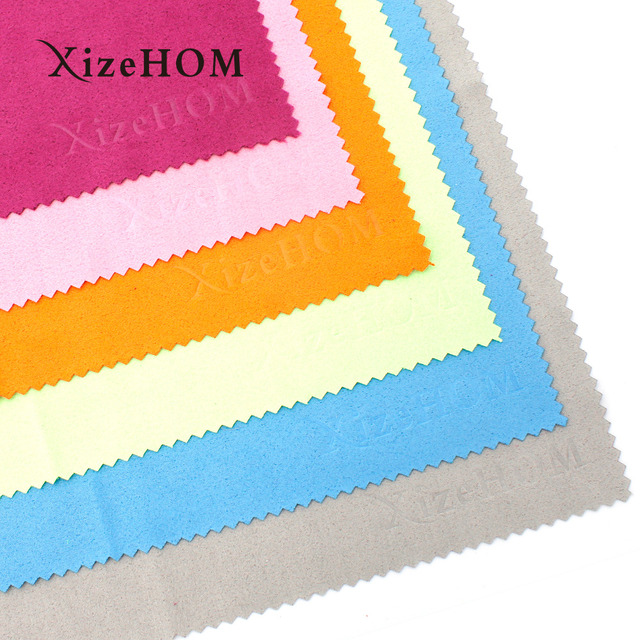 3pcs 25*25cm Suede/knitted fabric Cleaning Cloths Wipes for Lenses Camera Computer Screen Glasses Eyeglass Cleaning Cloth