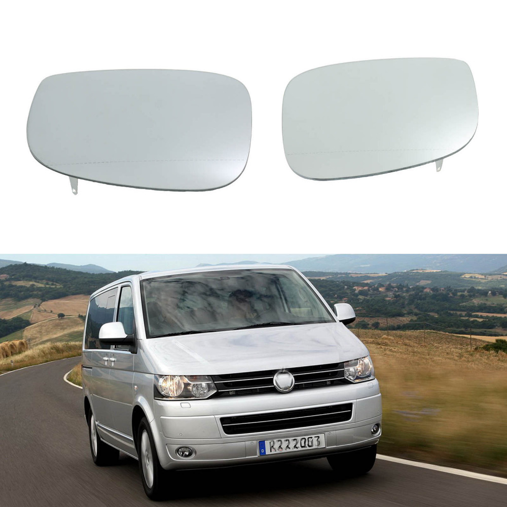 2Pcs For VW Transporter Multivan T5 Facelift T6 2010 2011 2012 2013 2014 2015 Heated Wing Side Rear Mirror Glass