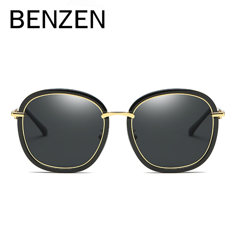 94f5ba6ebbb BENZEN Colorful Sunglasses Women Brand Designer Polarized Female Sun  Glasses Coating Ladies Shade With Case G6319-in Sunglasses from Apparel  Accessories on ...
