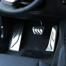 VCiiC Auto styling Fuß Rest Kein Bohren Fußstütze Pedal Pad Abdeckung Für BMW F30 F31 316i 318d 320i 328i 335i F20 F21 3 serie