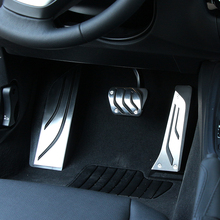 VCiiC سيارة التصميم القدم الراحة لا الحفر مسند القدم وسادة الدواسة غطاء لسيارات BMW F30 F31 316i 318d 320i 328i 335i F20 F21 3 سلسلة