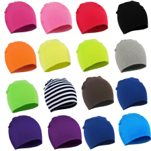 цены на Medoboo Europe Cotton Baby Caps Knitted Girls Boys Children Street Dance Hip Hop Hats Solid Color Spring Winter Baby Tire Cap 10  в интернет-магазинах