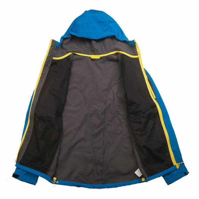 Dostosuj LOGO wodoodporna wiatroszczelna odzież górska ciepły polar zimowa kurtka typu Softshell mężczyźni narciarstwo wędkarstwo polowanie płaszcz