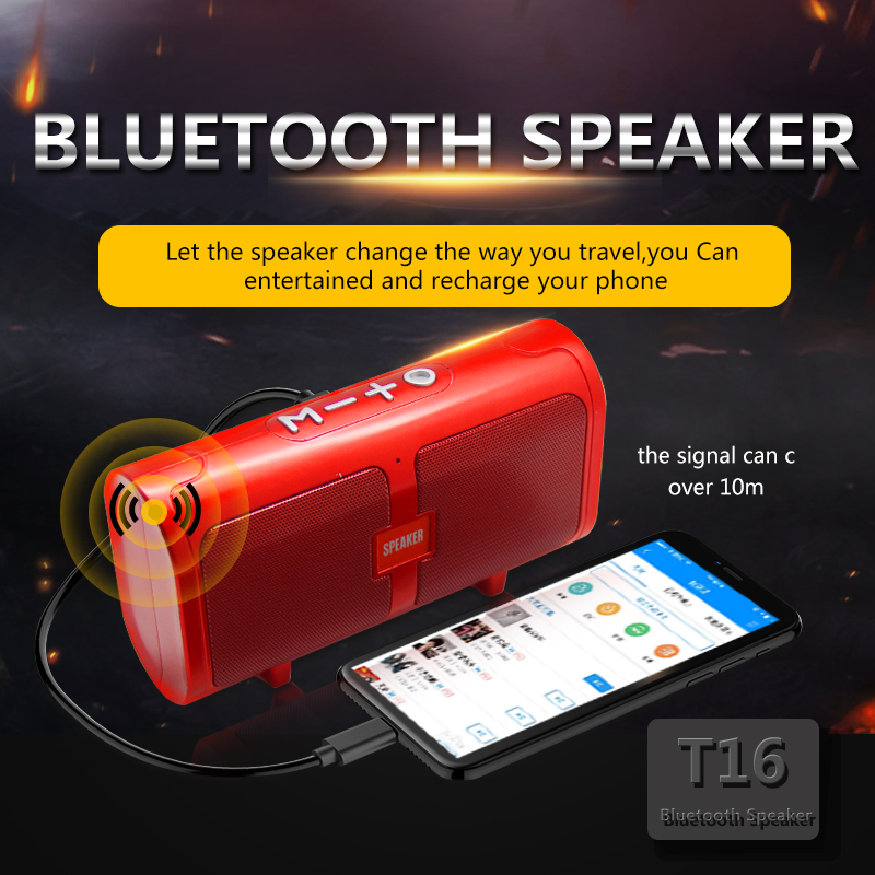 100% QualitäT Luetooth Lautsprecher Tragbare Super Bass Wireless Desktop Auto Hifi Lautsprecher Lautsprecher Handfree Mic Fm Mp3 Player