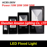 10 w 20 30 50 led holofotes iluminação ao ar livre holofotes ponto lâmpada de inundação jardim luz refletor led foco projecteur exterior