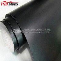 1.52*30m/Roll Premium quality Matt black car sticker matte black vinyl film with air free bubbles Matt black wrap film