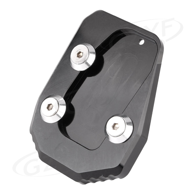 Motorcycle Kickstand Foot Side Stand Extension Pad Support Plate Enlarger For YAMAHA MT-09 MT09 2013 2014 2015