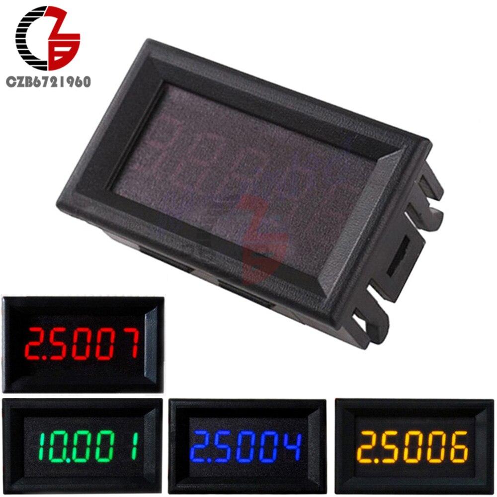 2 Wire 056 Dc 45v 120v Red Digital Voltmeter Volt Panel Meter For Wiring Motorcycle 0 33v 4 Wires 036 Inch Voltage 5v 12v 24v