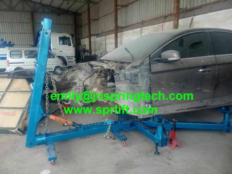 Tragbare karosserie reparatur von unfallschäden rahmenmaschine SP 6F ...