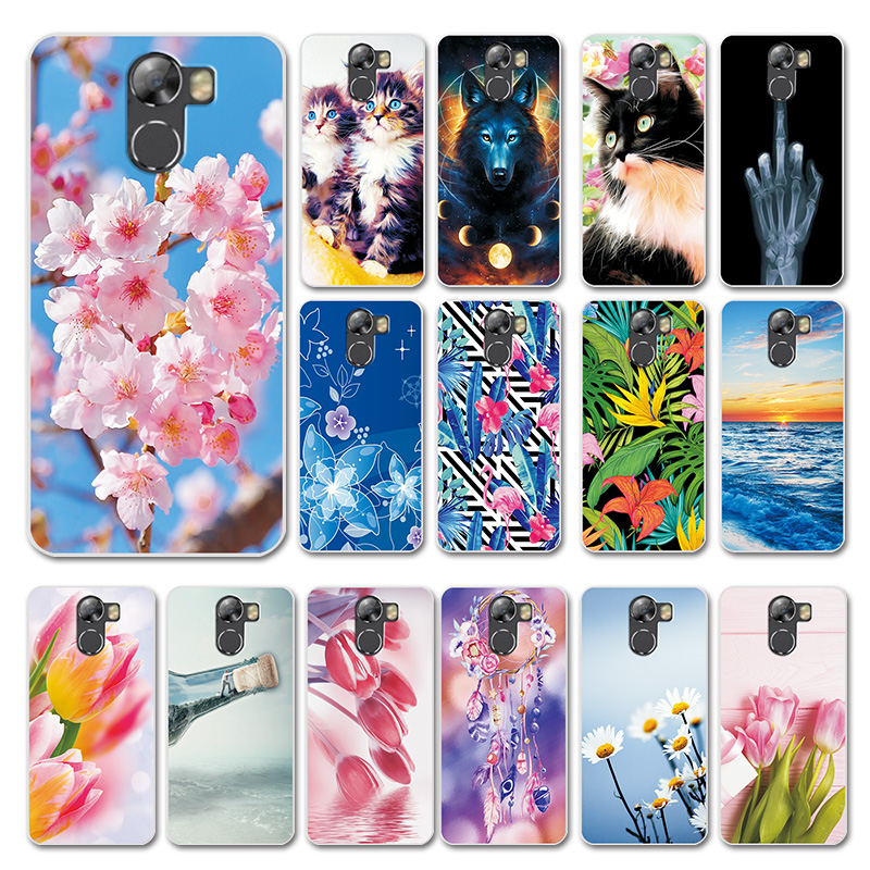 For Wileyfox Swift 2X 2 Case Cover Small Daisy Love Heart Silicon Case For Wileyfox Swift 2 2X Back Phone Bags Bumper Capa