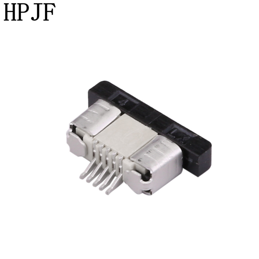 0 5mm Pitch FPC Connector Drawer Type Ribbon Flat Cable Holder Down 4 6 8 10 12 14 16 18 20 22 24 26 28 30 32 36 40 50 54 60Pin in Connectors from Lights Lighting
