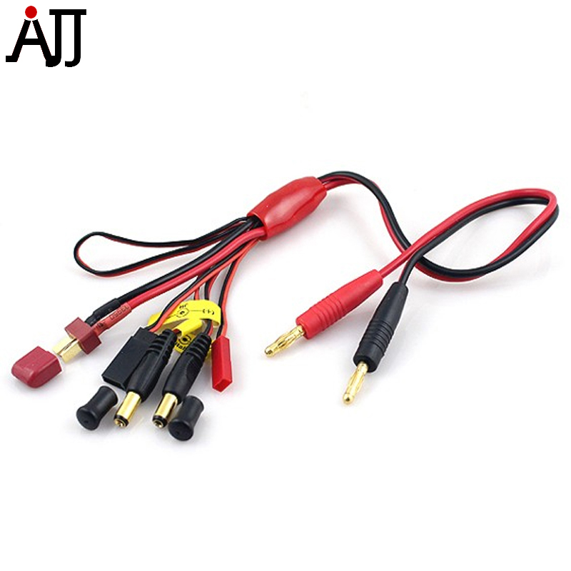 5 in 1 Battery Charging Harness Adapter Lead Line Cable for iMAX Bantam Balance Charger 8058