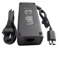 AC 100-240 В адаптер питание зарядное устройство кабель для X-BOX 360 тонкий Идеальный Сменное зарядное устройство со светодиодный ным индикатором ЕС Plug