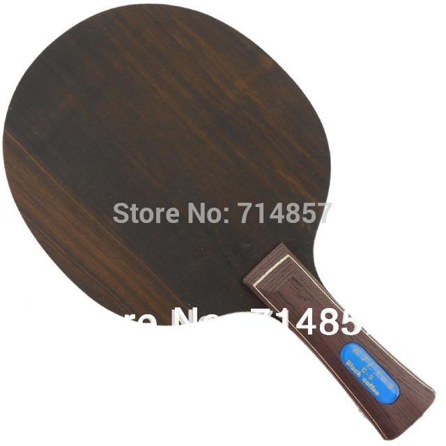 KTL Ebony 5 Loop C-5 Black coffee Table Tennis / Ping Pong Blade, Shakehand yinhe earth 4 e4 e 4 e 4 shakehand table tennis ping pong blade