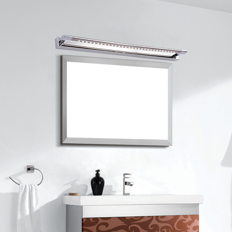 Aliexpress Com Bath Mirror Light Fixtures Led Bathroom Makeup Lights Snapped Stainless Steel Lighting From Reliable