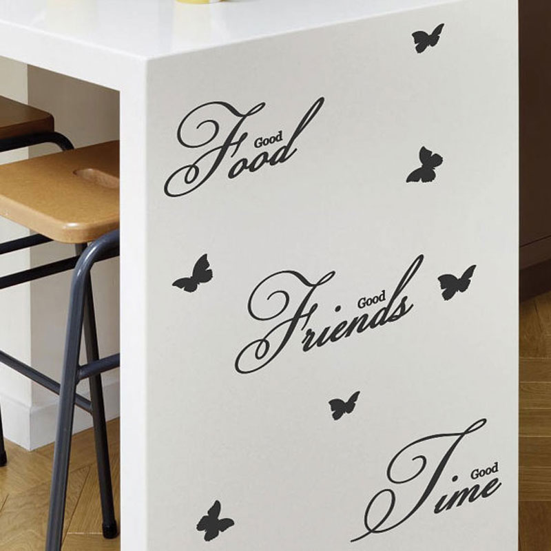 Online Get Cheap Dining Room Wall Aliexpresscom Alibaba Group - Wall stickers for dining room
