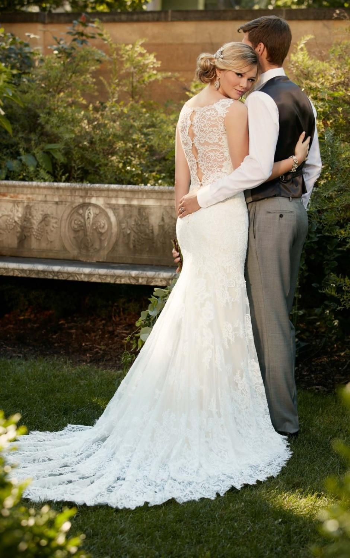 spaghetti strap wedding dress Jenny Yoo Bridal spaghetti strap wedding dress with flower embroidered skirt