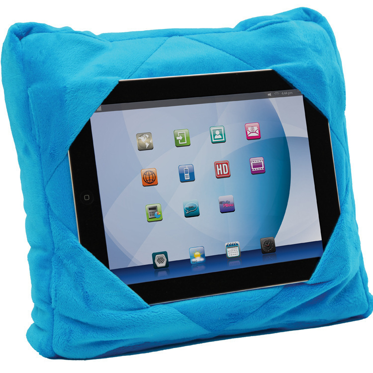 Car pillow versatile three in one supports Tablet cushion car seat read supports accessories for Ipad