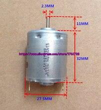 Motor padrão RP360-ST 6 v 12 v de alta velocidade 360 micro motor da escova do carbono de 27.5*32mm, em estoque ~