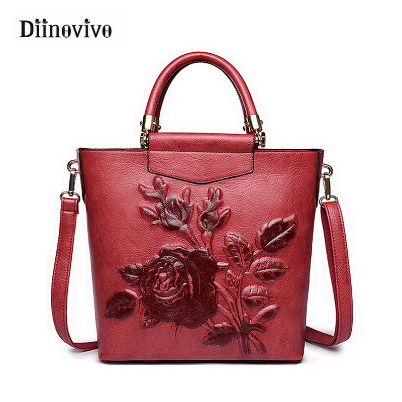 DIINOVIVO Classic Women Handbags Vintage Exclusive Female ...