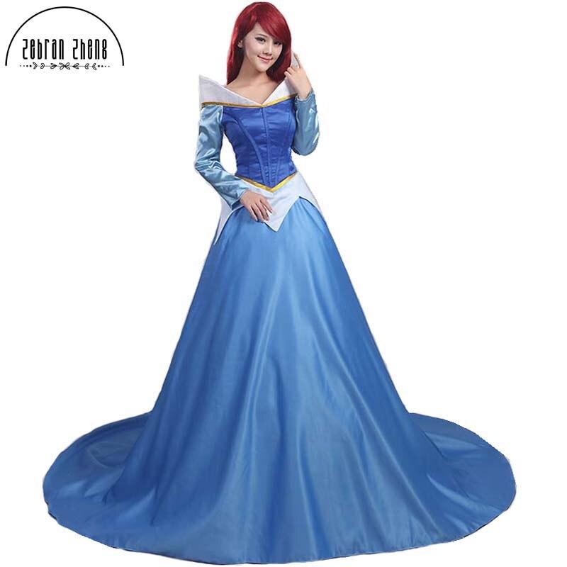 Sosire Noua Frumoasa Adormita Printesa Aurora Rochie Costum Coaplay - Costume carnaval