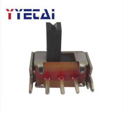 YongYeTai SK12D07 Five-Prong Action Switch SK-12D07, боковой скользящий переключатель, выключатель питания, бесплатная доставка