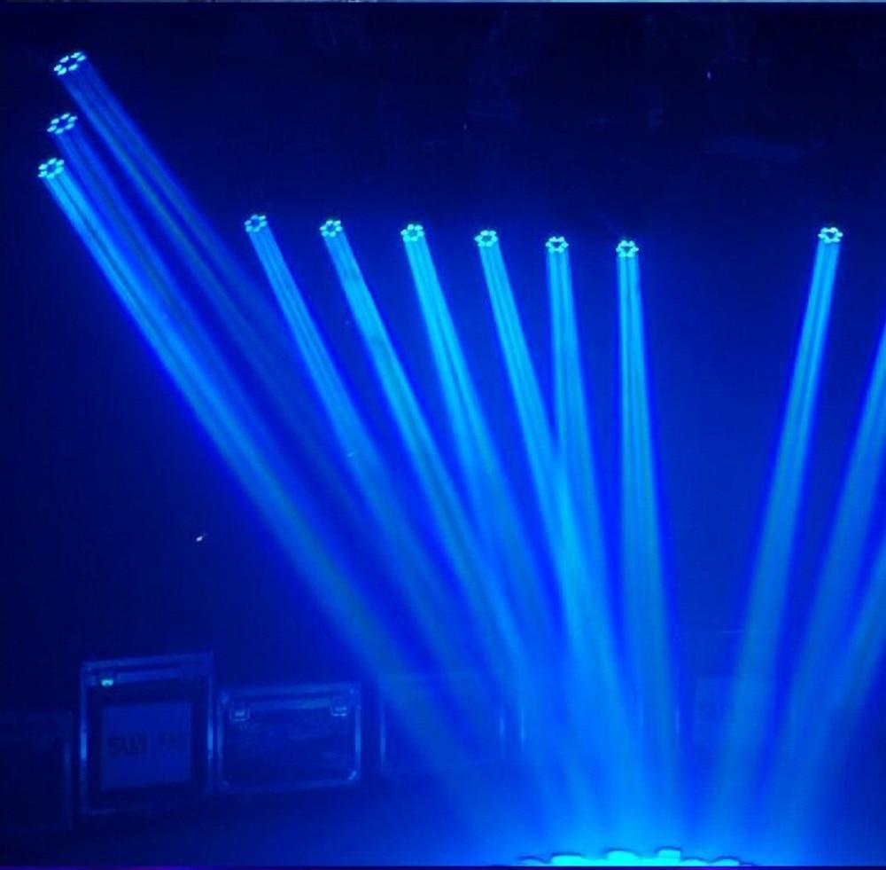 LED Mini Bee Eye Led Moving Head Light Beam Effect 6x15 Вт dj RGBW 4в1 Светодиодная лампа 10/15CH - 5