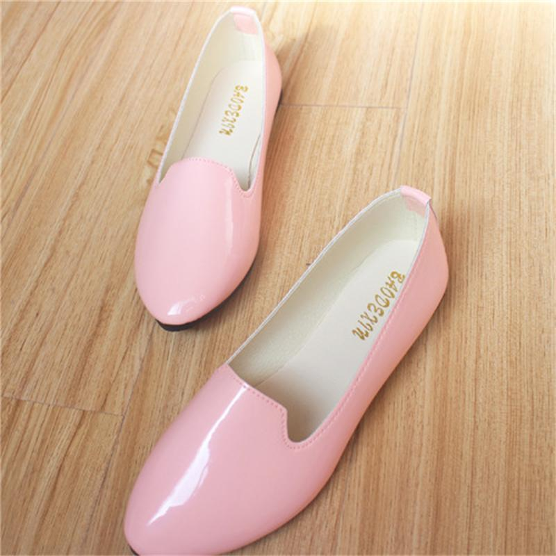 Women Shoes Flats 2017 Fashion Casual Shoes Woman Flat Candy Colors Comfortable Good Quality Walking Loafers Plus Size 35-42 7ipupas hot selling fashion women shoes women casual shoes comfortable damping eva soles flat platform shoe for all season flats
