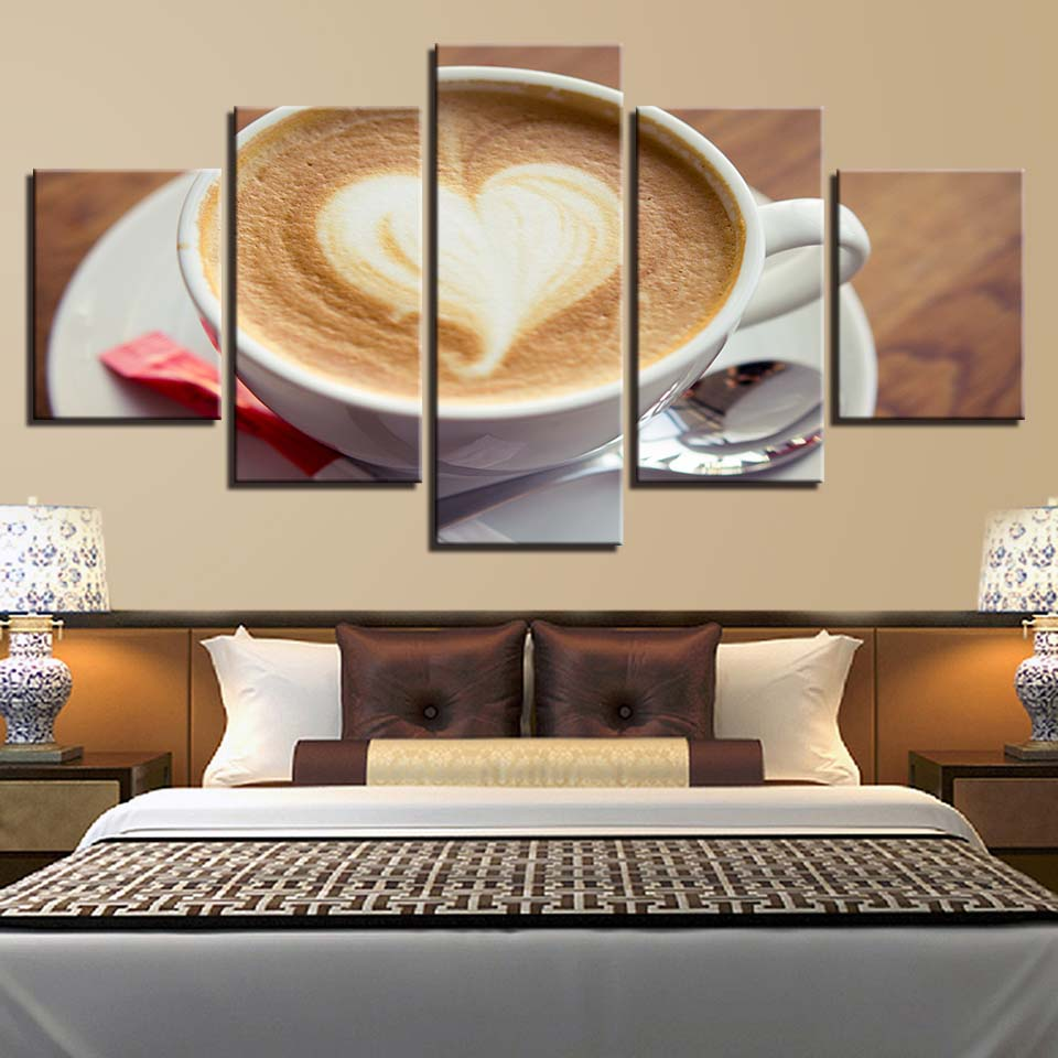 Canvas HD Prints Paintings Living Room Decor 5 Pieces