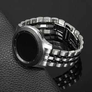 Image 5 - Bandream Zero Gap correa de reloj de acero inoxidable para Samsung Galaxy Watch, 46mm, SM R800 Gear S3, correa de repuesto, pulsera