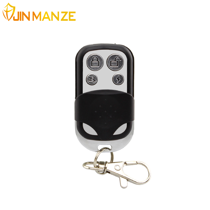 1 pcs Wireless 433MHz Key Telecontrol Metal Remote Control for GSM Burglar Security Home Alarm System