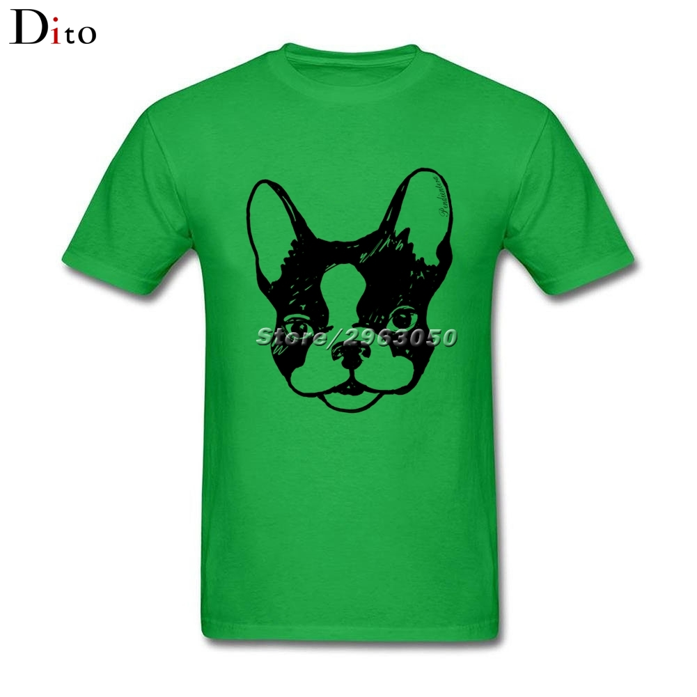 Frenchie French bulldog T Shirt Men Mans Crazy Short Sleeve Crewneck Cotton XXXL Family Frenchie T-shirts