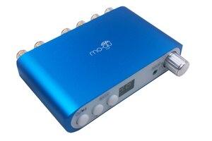 Image 3 - ハイファイのbluetooth 4.2 dspデジタルパワーアンプ2.1チャンネルステレオオーディオサブウーファーアンプ基板80ワット + 40WX2ベースアンプ