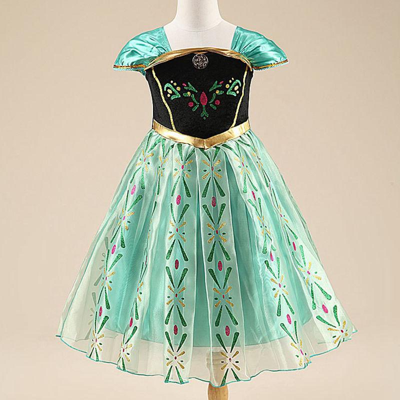 Момиче парти рокля Елза Анна дантела - Детско облекло - Снимка 4