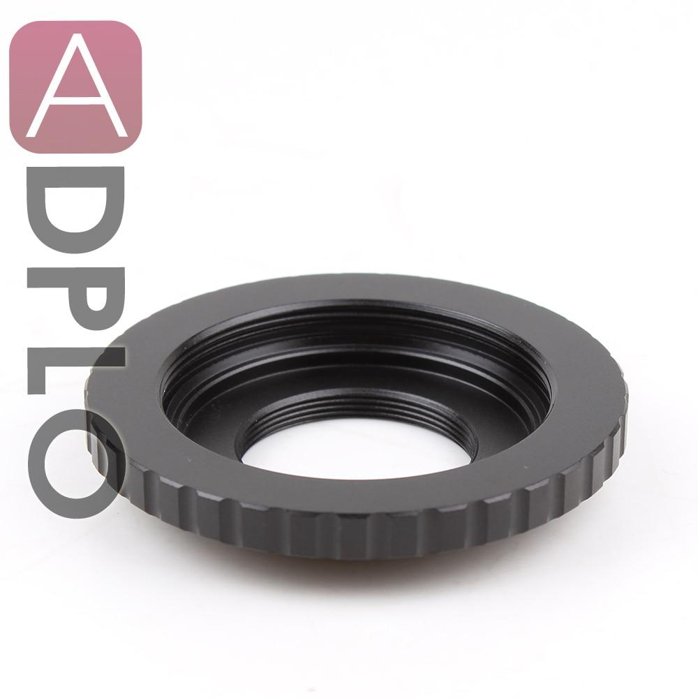 Dual Purpose Lens Adapter Suit For M42 Screw C Mount Movie Lens To Sony NEX Or Micro Four Thirds M4/3 Or Fujifilm FX Camera