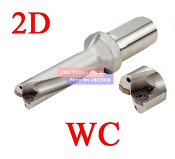ZD02 32mm -48mm WC Drill Type For 2D U Drilling Shallow Hole indexable insert drills indexable insert drills