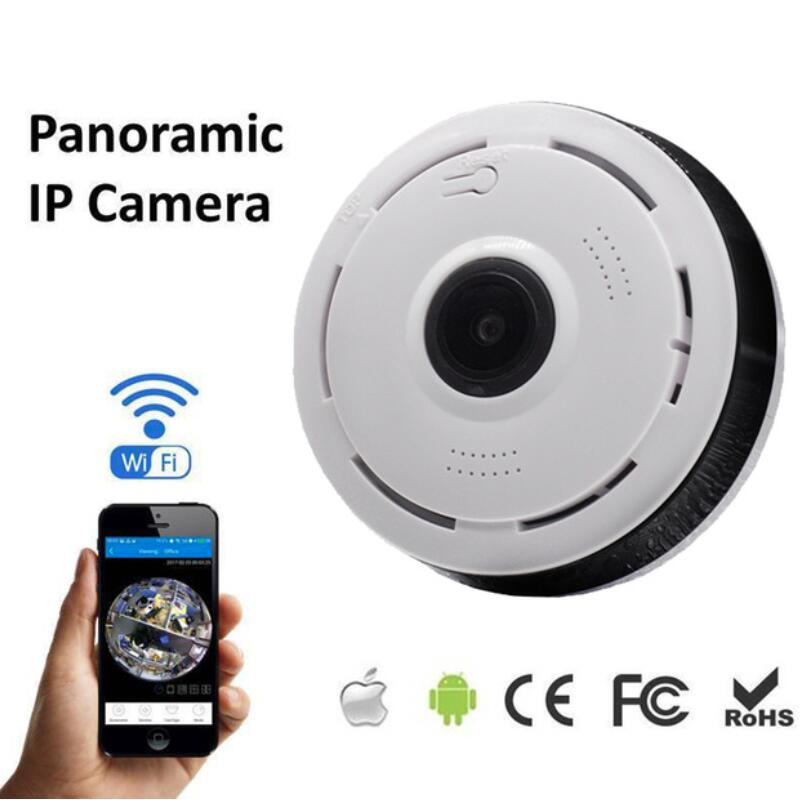 Wireless 360 Degree Panorama Camera Wifi 960P HD IP Camera P2P Cam CCTV Network Indoor Home Camera H.264 Security Surveillance цена и фото