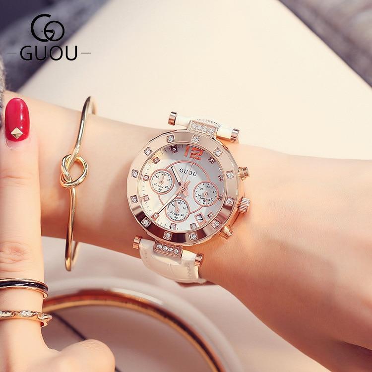 GUOU ρολόι πολυτελείας κυρίες ρολόι - Γυναικεία ρολόγια - Φωτογραφία 4
