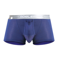 Male Panties Modal Trunk Men S Underwear Silver Belt Support Scrotum Bag Function Young Health Boxer