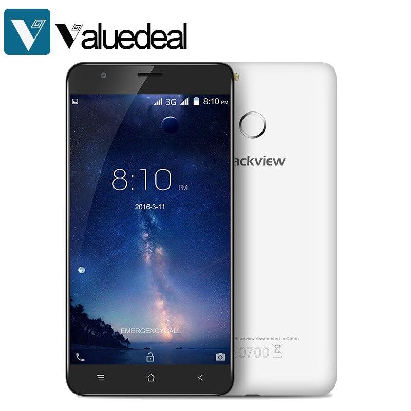 Цена за Оригинал Blackview E7S 5.5 дюймов Android 6.0 Смартфон 2 ГБ MT6580 Quad Core 1.3 ГГц 8.0MP RAM 16 ГБ ROM сенсорный разблокирована Android 6.0