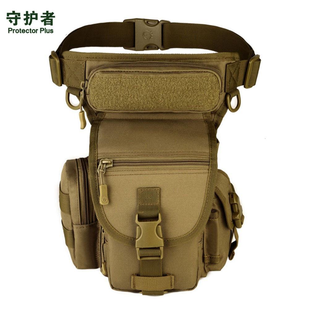 Men Waterproof Nylon Drop Leg Bag Fanny Waist Pack Thigh Belt Hip Bum Military Tactical For Travel Motorcycle Riding
